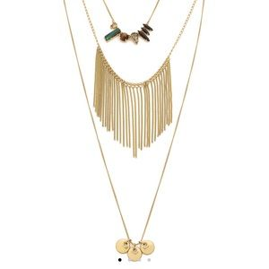 Madewell Layered Lula Necklace